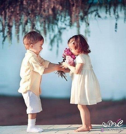 صور صور جميلة لاطفال رومانسية