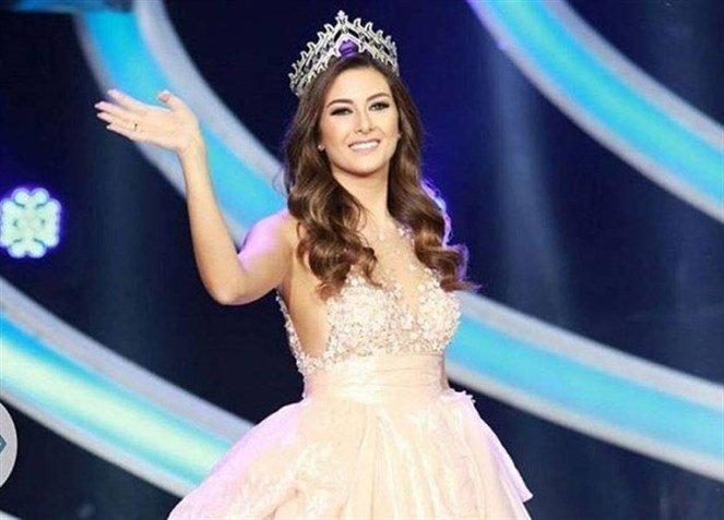 صوره ملكة جمال لبنان جويس عبود