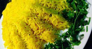 صوره طريقة عمل ارز اصفر بالكركم