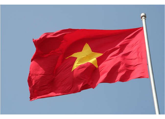 بالصور علم جمهورية فيتنام الجديد 200896 0