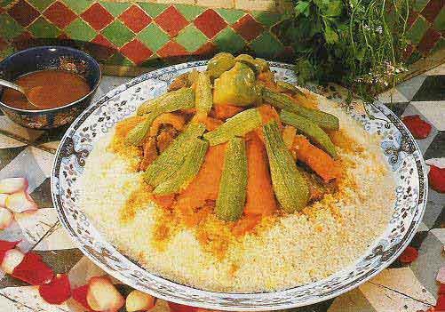صوره انواع الكسكس الجزائري  الطعام – الكسكسي  البربوشة – السكسو