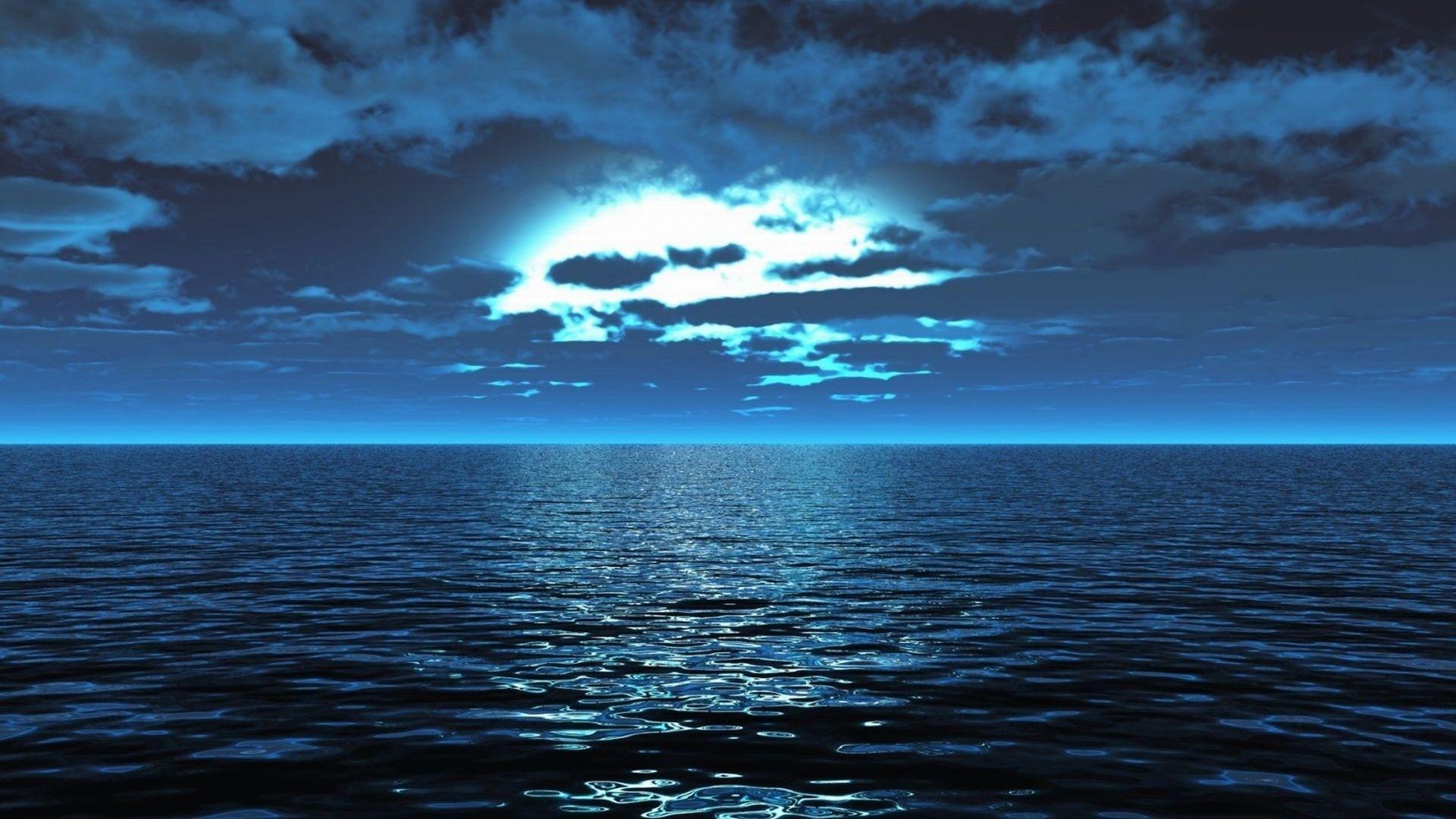 بالصور اجمل صور للبحر في الليل 20160701 1713