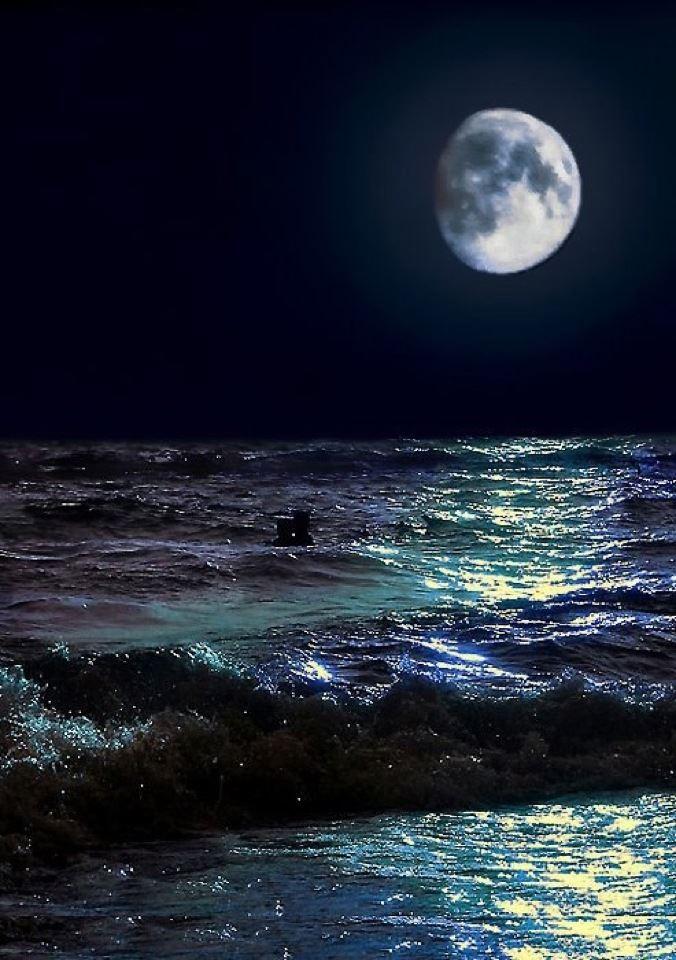 بالصور اجمل صور للبحر في الليل 20160701 1715