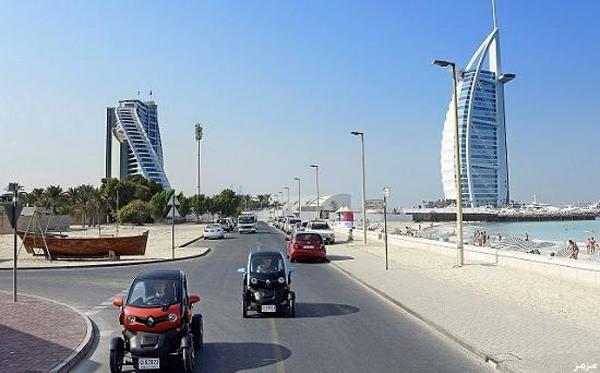صوره قائمة باسماء شوارع دبى