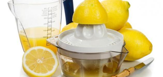 فائدة عصير الليمون للتخسيس