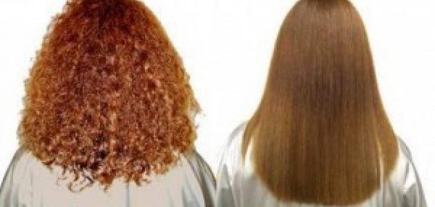 احسن طريقَة لتنعيم الشعر