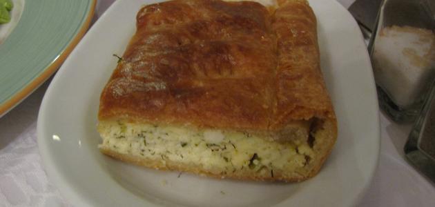 طريقَة  عمل فطائر ألجبنة