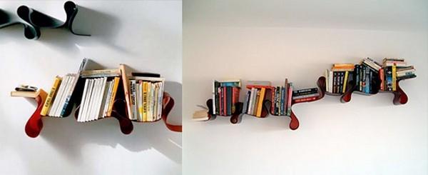 تصميمات مبتكرة للمكتبة المنزلية 4