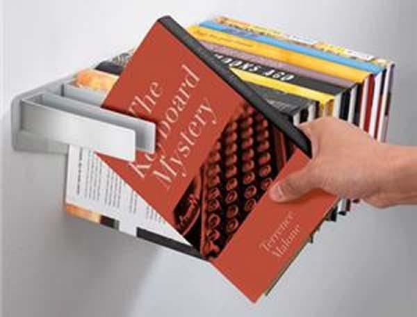 تصميمات مبتكرة للمكتبة المنزلية 7