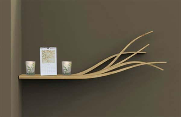تصميمات مبتكرة للمكتبة المنزلية 9