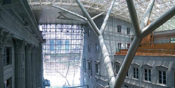 لعشاق الفن والهندسة..<br />مباني جديدة بتصاميم تجمع الماضي بالحاضر