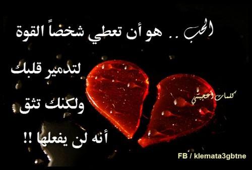 صوره اجمل جمل عن الحب