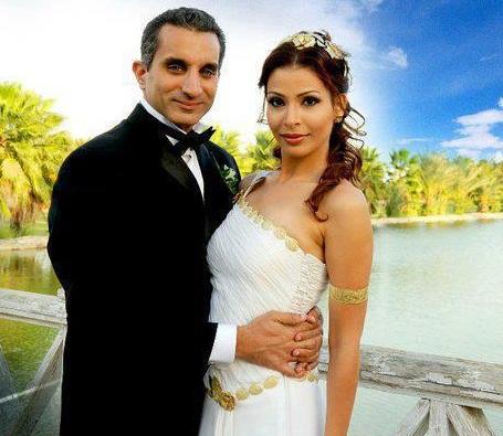 صوره زوجة باسم يوسف
