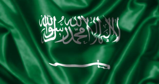 صوره علم المملكة  السعوديه الجديد
