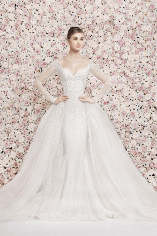 بالصور ازياء العروس لباس العروسه 20160702 559