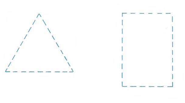 صوره تعليم رسم الاشكال الهندسية