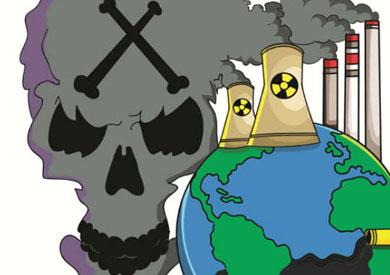 صوره صور كاريكاتورية عن التلوث