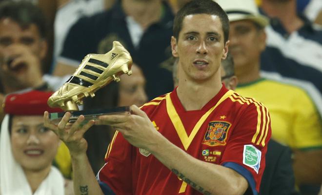 لاعب المنتخب الاسباني فرناندو توريس