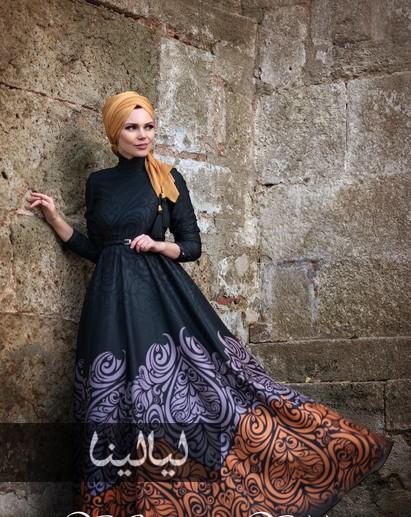 صوره اشيك الازياء التركية للمحجبات