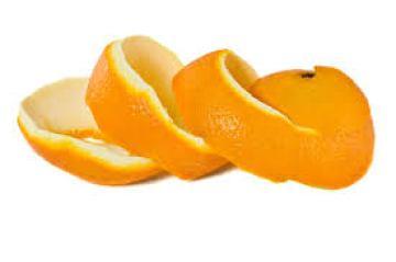 قشر البرتقال للشعر