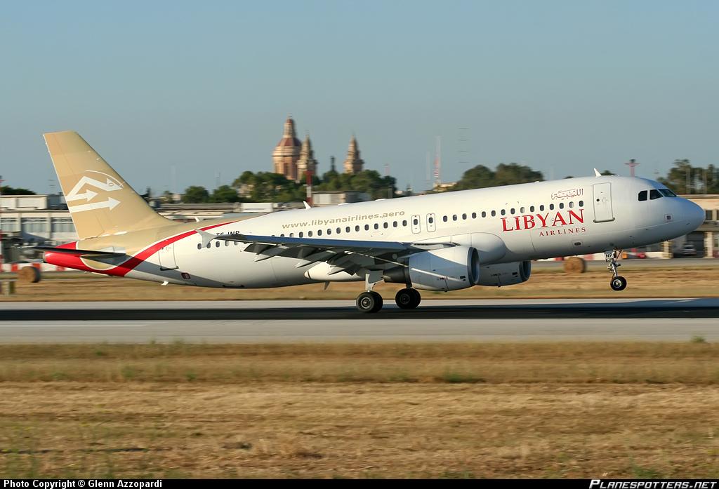 صوره رحلات الخطوط الليبية اليوم