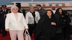 صوره عبد الفتاح السيسي وزوجته واولاده