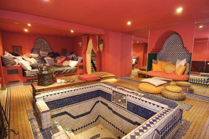 صوره طريقة عمل الحمام المغربي