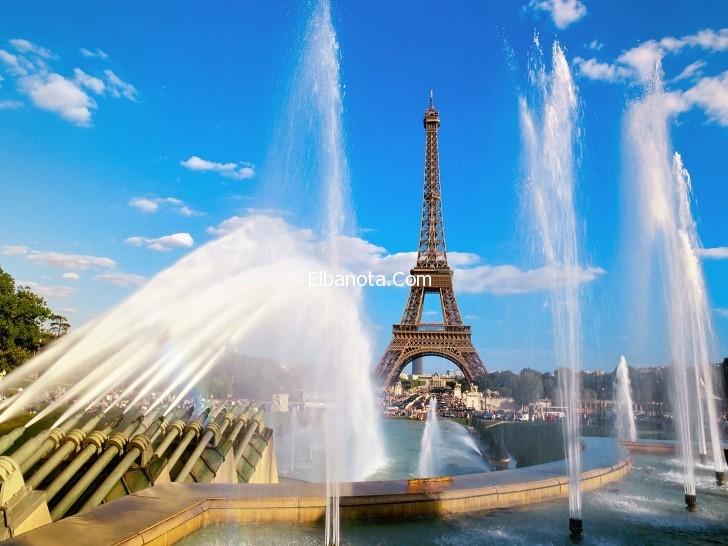 صوره معلومات عن فرنسا بلد العشاق جسر الحب في باريس
