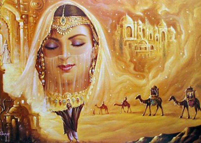صوره حكايات عربية قديمة رائعه