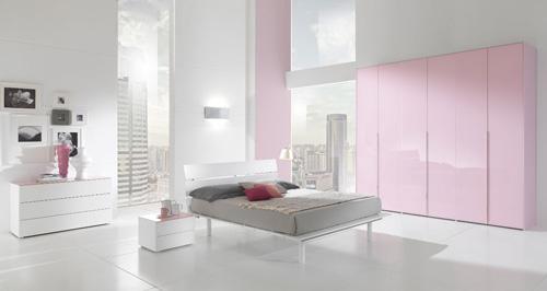 صوره غرف نوم بيضاء للبنات