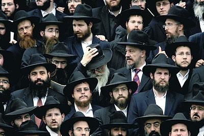 صوره كيف يصلي اليهود في معابدهم