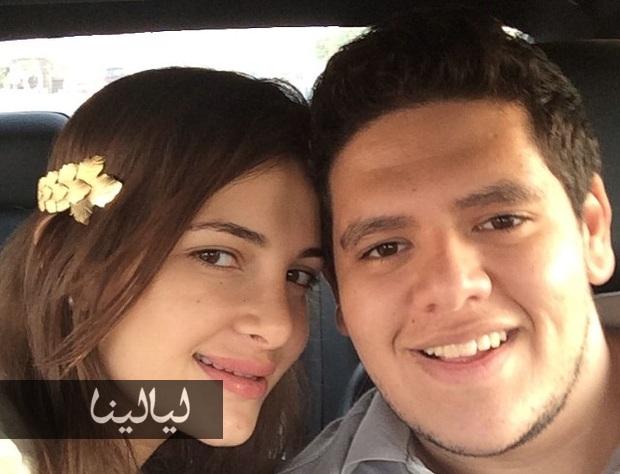 اجمل صور شَام الذهبي ابنة اصالة نصري وزوجها