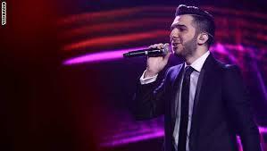 بالصور لحظة فوز حازم شريف الموسم الثالث من Arab Idol 20160704 861