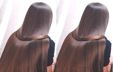 صوره وصفة سريعة لتطويل شعر