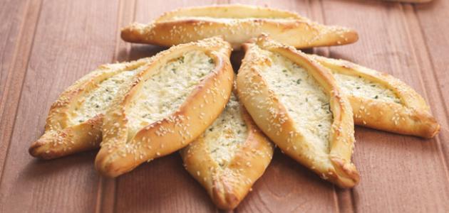صور الفطائر التركية بالجبنة المقادير