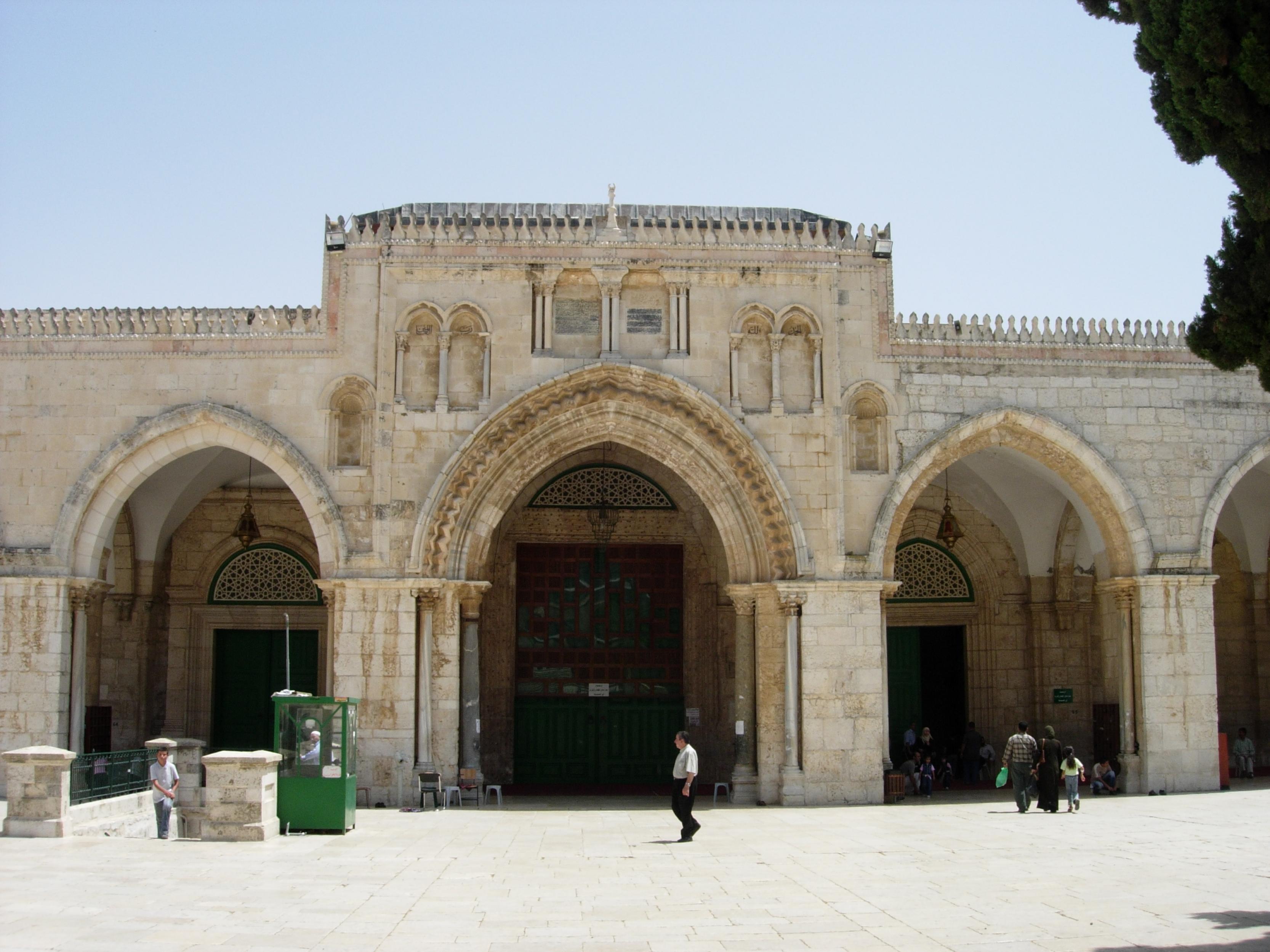 صوره معلومات عن المسجد القبلي