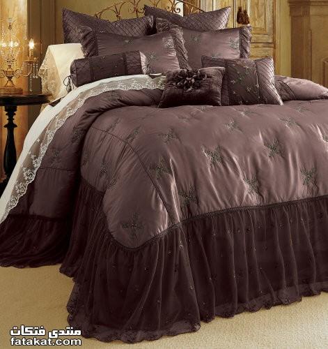صوره احلي مفارش سرير للعرايس