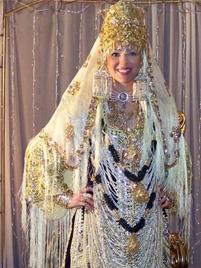 صوره ملابس تقليدية تلمسانية