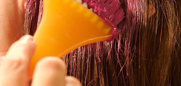 اضرار صبغة الشعر علي المرآة الحامل