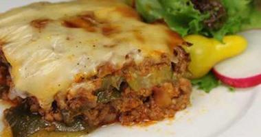 صوره طبخ لبناني الكوسا مع صلصة البشاميل
