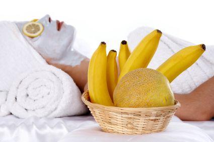 صوره فوائد الموز للعنايه بالبشرة