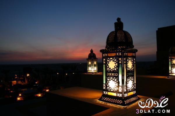 صور خَلفيات فوانيس رمضان 2017<br />صور 3dlat.net_13_15_52b2