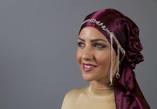 بالفيديو<br />موديلات حِجاب ولفات بالاكسسوار الانيق!