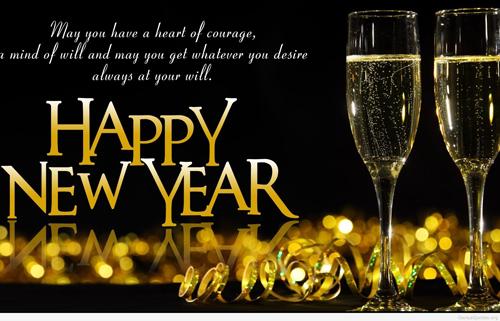 اجمل صور بطاقات التهنئة لعام 2017 احلى صور كروت راس السنة الميلادية Happy New Year 2017