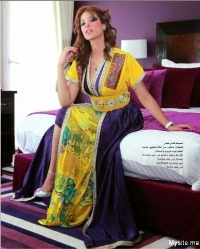 صوره صور ازياء وقفاطين مغربية للبيع