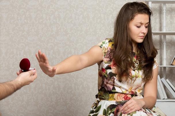 صوره لماذا ترفض الفتاة الشاب