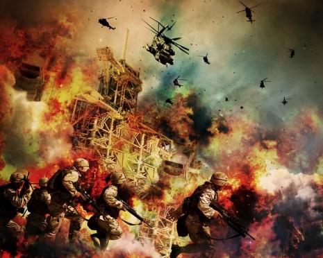 صوره تفسير حلم الحرب في المنزل