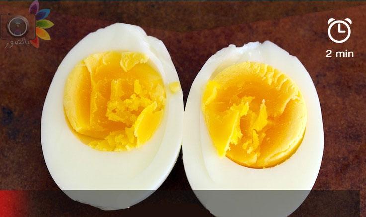 صوره طريقة سلق البيض الصحيحة