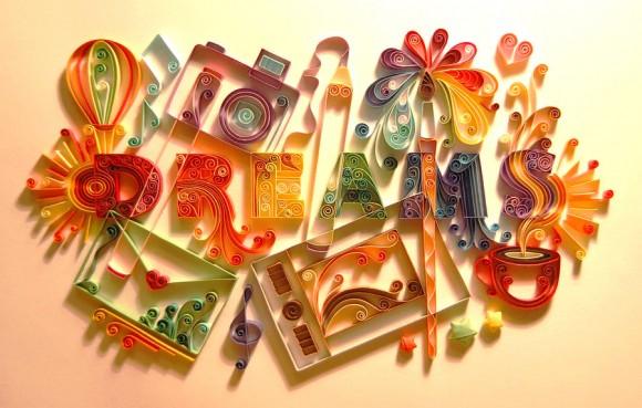 صوره اعمال فنبه بالورق الملون   فن الورق الملون