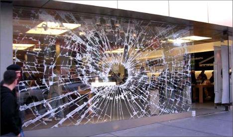 وجهات زجاجية للمحلات انيقة